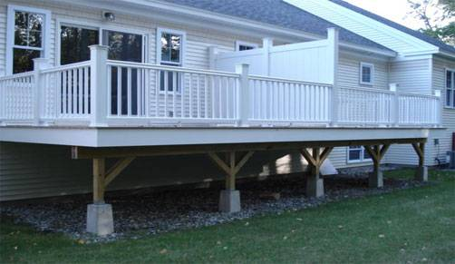 For the low maintenance type - composite decking will meet your needs.