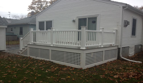 Composite deck builders - let us build your new composite deck in ma.
